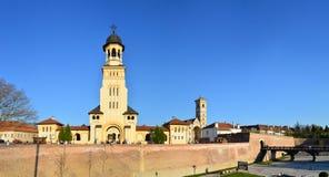 Φρούριο iulia της Alba Στοκ Εικόνες