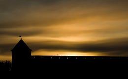 φρούριο ivangorod Στοκ Φωτογραφίες