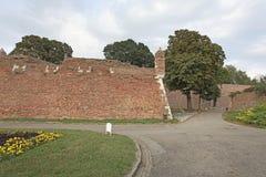 Φρούριο Kalemegdan, Βελιγράδι, Σερβία Στοκ Εικόνες