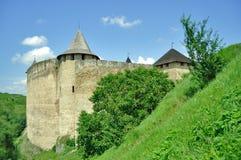 φρούριο khotyn Στοκ φωτογραφίες με δικαίωμα ελεύθερης χρήσης