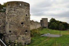 Φρούριο Koporie - παλαιά θέση στη Ρωσία, κοντά σε Άγιο - την Πετρούπολη Στοκ φωτογραφίες με δικαίωμα ελεύθερης χρήσης