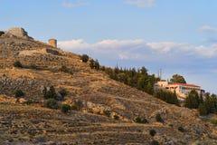 Φρούριο Larissa στοκ φωτογραφία με δικαίωμα ελεύθερης χρήσης