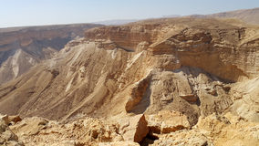 Φρούριο Masada έρημος judean Στοκ Φωτογραφία