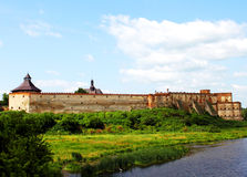 φρούριο medzhibozh παλαιό Στοκ Φωτογραφίες