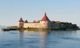 φρούριο oreshek shlisselburg στοκ φωτογραφίες