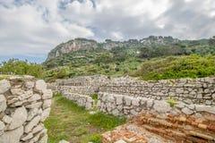 Φρούριο Orrico στο νησί Capri, Ιταλία στοκ εικόνα