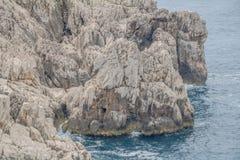 Φρούριο Orrico στο νησί Capri, Ιταλία στοκ εικόνες με δικαίωμα ελεύθερης χρήσης