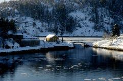 φρούριο oscarsborg Στοκ Εικόνες