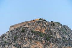 Φρούριο Palamidi Nafplio στοκ εικόνες με δικαίωμα ελεύθερης χρήσης