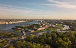 φρούριο Paul Peter Πετρούπολη Άγι&omi στοκ εικόνα