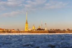 φρούριο Paul Peter Πετρούπολη ST Στοκ Εικόνα