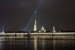 φρούριο Paul Peter Πετρούπολη ST Στοκ εικόνα με δικαίωμα ελεύθερης χρήσης