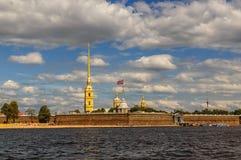 φρούριο Paul Peter Πετρούπολη Ρω&sigma Στοκ Εικόνες