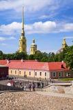 φρούριο Paul Peter Πετρούπολη ST Στοκ Φωτογραφίες