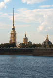 Φρούριο Petropavlovskaya Στοκ Φωτογραφίες