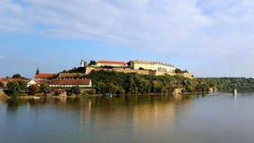 Φρούριο Petrovaradin κοντά στο Νόβι Σαντ, Σερβία Στοκ φωτογραφία με δικαίωμα ελεύθερης χρήσης