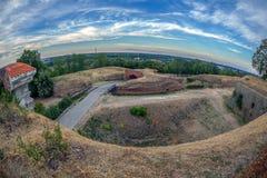 Φρούριο Petrovaradin στο Νόβι Σαντ, Σερβία Στοκ εικόνα με δικαίωμα ελεύθερης χρήσης