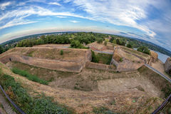 Φρούριο Petrovaradin στο Νόβι Σαντ, Σερβία Στοκ Εικόνες