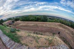 Φρούριο Petrovaradin στο Νόβι Σαντ, Σερβία Στοκ φωτογραφία με δικαίωμα ελεύθερης χρήσης