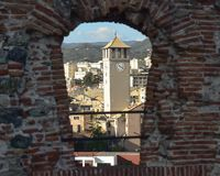 Φρούριο Priamar της πόλης Savona Ιταλία Στοκ εικόνες με δικαίωμα ελεύθερης χρήσης