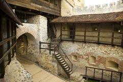 φρούριο rasnov s στοκ εικόνες