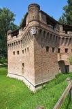 Φρούριο Rocca Stellata. Bondeno. Αιμιλία-Ρωμανία. Ιταλία. στοκ φωτογραφίες με δικαίωμα ελεύθερης χρήσης