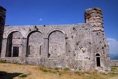 Φρούριο Rozafa, Shkodra, Αλβανία Στοκ εικόνα με δικαίωμα ελεύθερης χρήσης
