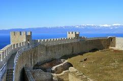 Φρούριο Samuil, Οχρίδα, Μακεδονία στοκ φωτογραφία
