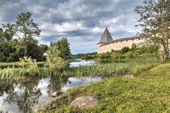 Φρούριο Staroladozhskaya, Staraya Ladoga, περιοχή του Λένινγκραντ, της Ρωσίας στοκ εικόνες