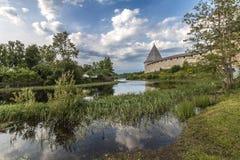 Φρούριο Staroladozhskaya, Staraya Ladoga, περιοχή του Λένινγκραντ, της Ρωσίας στοκ εικόνα με δικαίωμα ελεύθερης χρήσης