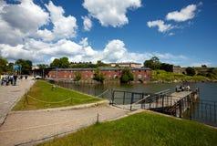 Φρούριο Suomenlinna στο Ελσίνκι, Φινλανδία Στοκ Εικόνες