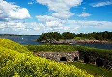 Φρούριο Suomenlinna Στοκ φωτογραφία με δικαίωμα ελεύθερης χρήσης