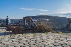 Φρούριο Tsarevets Στοκ Εικόνα