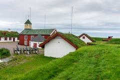 Φρούριο Vardohus στην πόλη Vardo, Finnmark, Νορβηγία Στοκ Εικόνα