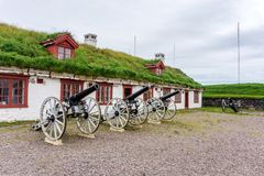 Φρούριο Vardohus στην πόλη Vardo, Finnmark, Νορβηγία Στοκ εικόνες με δικαίωμα ελεύθερης χρήσης
