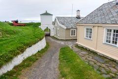 Φρούριο Vardohus στην πόλη Vardo, Finnmark, Νορβηγία Στοκ φωτογραφία με δικαίωμα ελεύθερης χρήσης