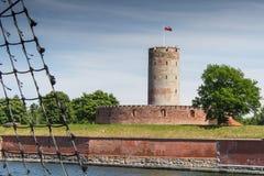 Φρούριο Wisloujscie Στοκ Εικόνες