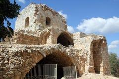 Φρούριο Yehiam Στοκ εικόνες με δικαίωμα ελεύθερης χρήσης