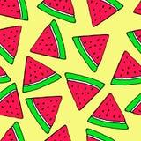 Φρούτα, άνευ ραφής, κινούμενα σχέδια, διανυσματικό σχέδιο Διανυσματική απεικόνιση