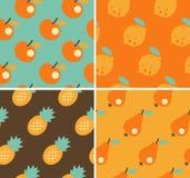Φρούτα άνευ ραφής Στοκ εικόνες με δικαίωμα ελεύθερης χρήσης