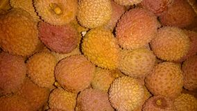 Φρούτα λίτσι Στοκ Εικόνες
