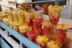 Φρούτα αγοράς Στοκ φωτογραφία με δικαίωμα ελεύθερης χρήσης