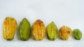 Φρούτα αστεριών που απομονώνονται Στοκ εικόνες με δικαίωμα ελεύθερης χρήσης