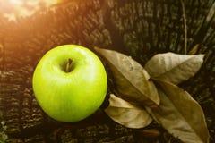 Φρούτα αχλαδιών, νωποί καρποί, υγιή τρόφιμα, ξύλινος πίνακας στοκ φωτογραφίες