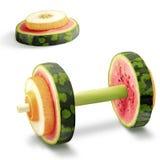 Φρούτα για τον αθλητισμό. στοκ φωτογραφία με δικαίωμα ελεύθερης χρήσης