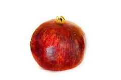 Φρούτα γρανατών που απομονώνονται Στοκ Εικόνες