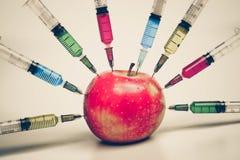 Φρούτα ΓΤΟ Στοκ Εικόνες