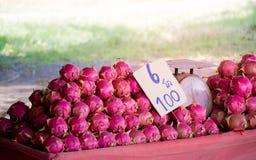 Φρούτα δράκων Pitayas Στοκ Φωτογραφία