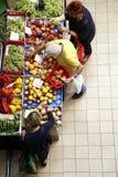Φρούτα και λαχανικά αγοράς Στοκ φωτογραφία με δικαίωμα ελεύθερης χρήσης