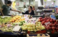 Φρούτα και λαχανικά αγοράς Στοκ Εικόνα